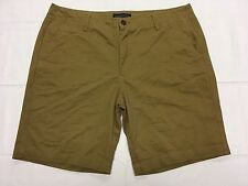 AEROPOSTALE CAMEL CASUAL GOLF SHORTS HAND MEASURED SZ 38W Tag 36 EUC BEST SH658m