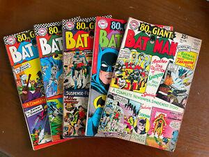 Batman S.A. Lot (7 Comics) - Low to Mid Grade - DC Comics