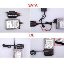 """USB 3.0 to 2.5""""/3.5"""" SATA / IDE Hard Drive Adapter with Power Supply Tool Kit"""