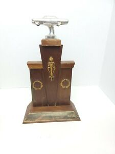 "Vintage 60's 15"" Longfield Drag Strip Colonial Beach VA Drag Race Trophy"