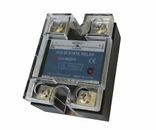 25A DC to DC Solid State Relay SSR  + Clear Cover