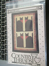KERCHIEF CATS QUILT PATTERN C1990 Country Threads,