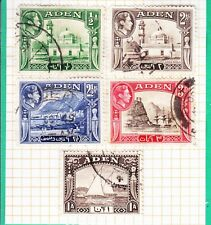 Aden 1939 5rs Sg.26 Lightly Mh British Colonies & Territories