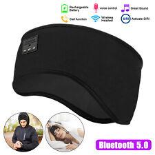 Bluetooth Sleep Headphones Wireless Sports Sweatproof Headband Earphone Headsets