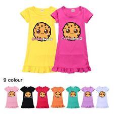 Girls Sleepwear Dresses Pyjamas Nightdress Summer COOKIE SWIRL C Nightie Dress