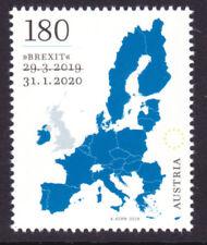 Brexit Stamp - Sondermarke Brexit der Österreichischen Post 2020 postfrisch**