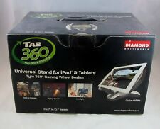 Diamond Multimedia 360 Rotating Ipad or Android Tablet Stand - NEW SEALED