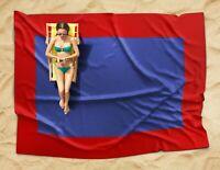 Beach Blanket Sand Proof / Waterproof Extra Large Oversized Beach Mat - Blue