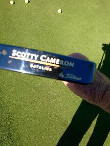 """Titleist Scotty Cameron Catalina Gun Metal 35"""" Putter Custom Shop"""