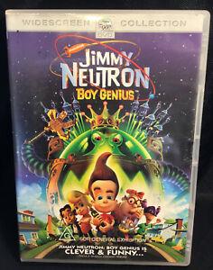 Jimmy Neutron Boy Genius Retro Classic Family Comedy Animation Movie G