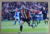 Billy Sharp Signed 6x4 Photo Sheffield United FC England Genuine Autograph + COA