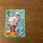 Jerry Rice 1986 Topps Football NFL Rookie Card RC #161 NM-MT Sharp Card!