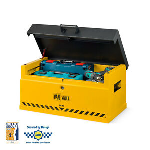 Van Vault Mobi and Docking Station S10850 Tool Security Steel Secure Safe Box