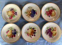 Vintage 1950's Arzberg Bavarian Fruit Plates With Gold Trim -Made In W.Germany