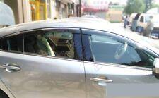 Quality Window Sun Visor Wind Deflector Guard For 2013-2017 Mazda 6 Atenza M6