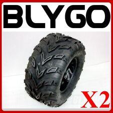 "2X QIND 4PLY 20X10-10"" inch Rear Back Tyre Tire 250cc Quad Dirt Bike ATV Buggy"