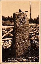 CPA  Au Col du Bonhomme - Monument du Général Bataille   (455381)