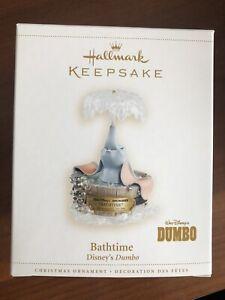 HALLMARK 2006 DUMBO BATHTIME ORNAMENT