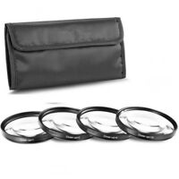 37mm +1+2+4+10 Close Up Macro Lens Filter kit for Canon Nikon Pentax Sony DSLR