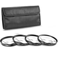 37mm +1+2+4+10 Close Up Macro Lens Filter kit for Canon Nikon Pentax Sony DSLR