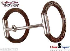 Sherry Cervi Diamond Dee Ring Smooth Thin Snaffle Barrel Racing Bit Free Ship