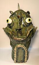 Surreal Ceramic Sculpture - Anthropomorphic Fish - Fantasy - 2017