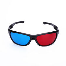 Red Blue 3D Glasses Eyewear For Dimensional Anaglyph Movies Game DVD TV
