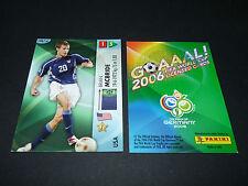 BRIAN McBRIDE USA SOCCER PANINI CARD FOOTBALL GERMANY 2006 WM FIFA WORLD CUP