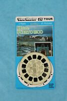 VINTAGE VIEW-MASTER 3D REEL BLISTER PACKET HISTORIC PUERTO RICO SEALED