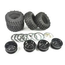 Crawler 96mm Tire Set 1.9Inch Beadlock Wheels Rims for RC4WD D90 Tamiya CC01