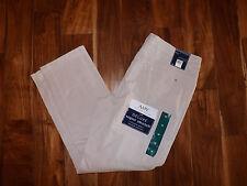 NWT Womens BANDOLINO Amy Tapered Leg Slim Creamstone Khaki Pants 8