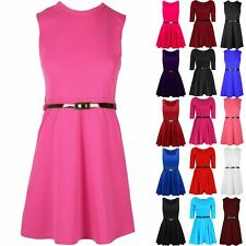 Girls Skater Dress Age 2 3 4 5 6 7 8 9 10 11 12 Years 1st Class Despatch