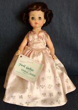 "Madame Alexander ~ FIRST LADY DOLL ~ 14"" Mamie Eisenhower ~ Original Box ~ 1436"