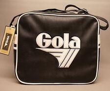 Gola Harnell Bag Black White CUB379BW0 Schultertasche schwarz weiß Kunstleder