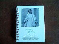 mini note book hail mary full of grace