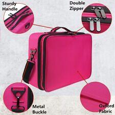 Professional Makeup Bag Portable Cosmetic Case Storage Box Handle Organizer