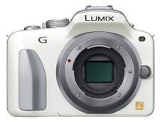 Panasonic Lumix Mirrorless interchangeable-lens camera shell white DMC-G3-W