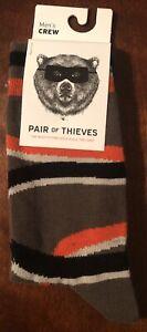 Pair of Thieves Men's Crew Socks Size 8-12