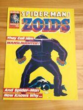 Spiderman And Zoids Magazine # 50