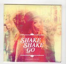 (IB290) Shake Shake Go, England Skies - 2015 DJ CD new not sealed