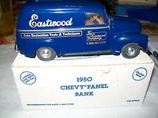 "Ertl #9325UO 1:25 ""Eastwood Co. 1-#01 1989"" 1950 Chevrolet Panel Van Bank MIB"