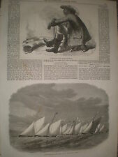 A Bechuana Chief of South Africa 1867 print ref Y4