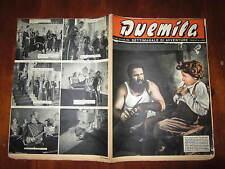"""FOTOROMANZO """"DUEMILA"""" SETTIMANALE DI AVVENTURE NUMERO 28 DEL 15 LUGLIO 1951"""