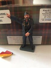 King & Country KM01  Flag Signaller KRIEGSMARINE