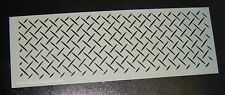 Lattice Pattern  Cake craft decorating stencil Airbrush Mylar Polyester Film