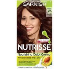 Garnier Nutrisse Nourishing Permanent Hair Color Crème 415 Mahogany Dark Brown