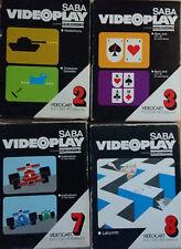 Saba Videoplay Nordmende TelePlay Fairchild NR. 2 3 7 8 OVP