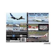 Canada Vancouver & Iqaluit Airplane Aircraft Aviation DVD Video-New