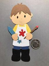 1 Artist Boy Premade PAPER Die Cuts / Scrapbook & Card Making