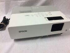 EPSON PowerLite 83+ LCD Video PROJECTOR Over 2000 Hours EMP-83H *No Remote*